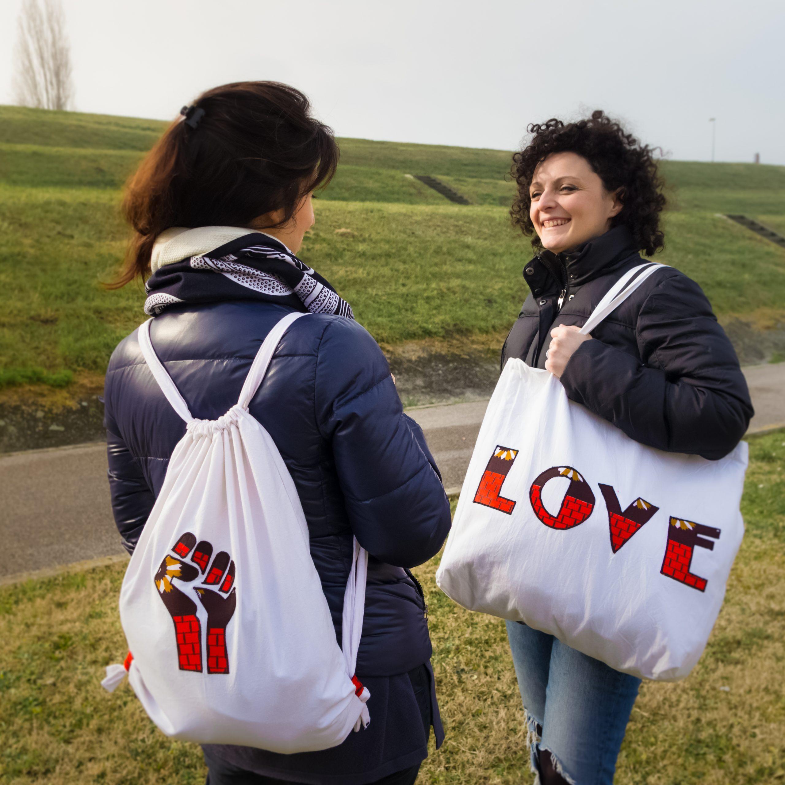 Shopper e zainetto-sacca