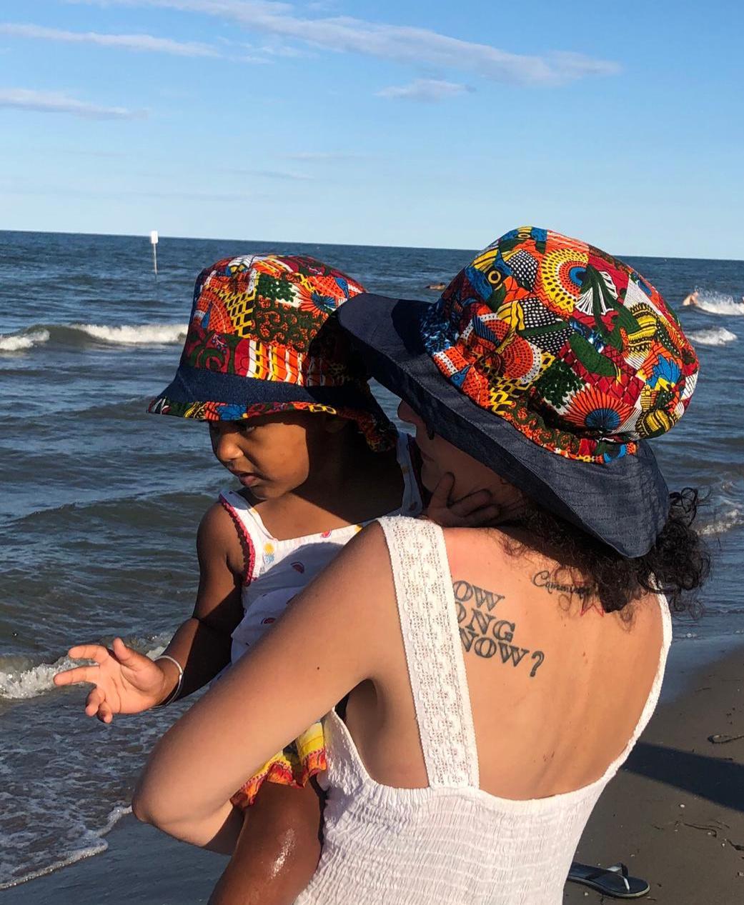 cappello estate donna e bambina