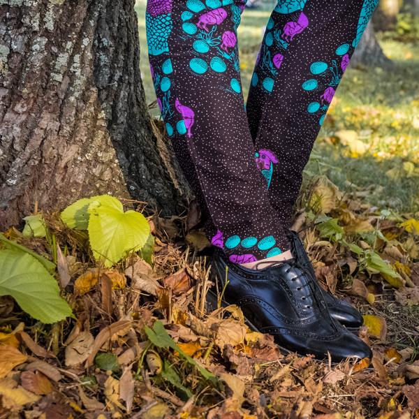 Pantaloni Cordoba stretti da donna