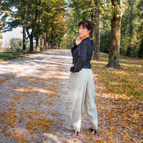 pantaloni larghi donna Oslo