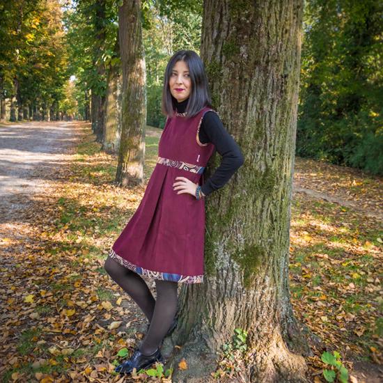 vestito Sidney lana donna