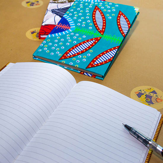 Quaderno rivestito